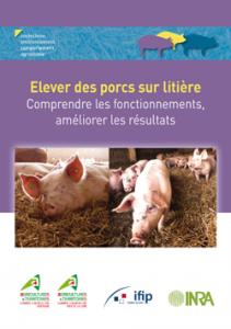 Elever des porcs sur litiere
